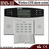 Wireless GSM Alarm System with LCD Display security alarm system