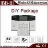 2014 new Wireless Alarm System with LCD Display wireless intelligent security alarm system