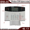 security Gsm alarm system / gsm module home alarm system / wireless fire gsm alarm system