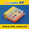 Realcolor PGI 450/CLI451 refillable cartridge for Canon PIXMA MG5440 MG6340 IP7240 MX924 MG5540 MG6440 MG7140 refill cartridge