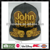 snapback cap flat peak cap for good sales