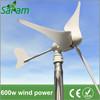600W 3 Blades Horizontal Axis Wind Turbine Generator