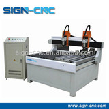 High quality and high speed rotary cnc router