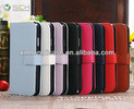 New Products Colorful Flip Leather Case for Samsung Galaxy S4 with Credit Card Pouch,Wallet case for S4 with stand
