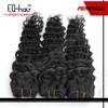 5A Top Quality Deep Curly 100% Virgin Peruvian Hair