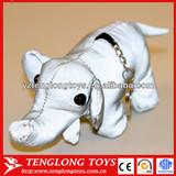 Customed new design plush reflective elephant keychain toy stuffed keychain toy