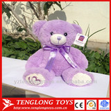 HOT birthday gift lavender bear toy heated lavender teddy bear