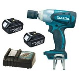Makita BTW251Z 18V Li-Ion Impact Wrench with 2 Batteries and Charger