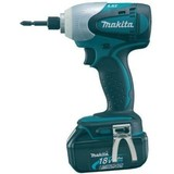 Makita 18V LXT BTD140RFE Impact Driver with 2 Batteries and Charger