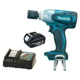 Makita BTW251Z 18V Li-Ion Impact Wrench with BL1830 3.0Ah Battery and Charger