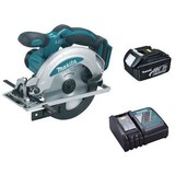 Makita BSS610Z 18 Volt 165mm Cordless Circular Saw with Battery and Charger