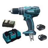 Makita BHP456Z 18V Li-ion Combi Drill 2 Speed with 2 Battery and Charger