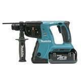 Makita BHR261RDE 36v LXT SDS Combi Hammer 2 Batteries, Charger & Stacking Case