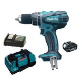 Makita BHP456Z 18V Li-ion Combi Drill 2 Speed with Battery, Charger and LXT400 Bag