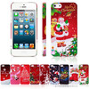For Christmas iphone 5 case, Santa Claus IMD Case for iPhone 5S