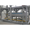 LRC skid-mouthed separator 3 phase test separator pressure vessel oil gas water separator