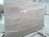 White And Grey Wood Vein Marble Slabs, Wooden Grey Marble, Grey Wood Vein Marble