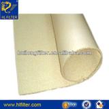 PP PE NMO monofilament non woven needle felt 100 micron filter cloth / filter fabric