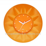 2014 hot flower shaped wholesale wall clocks
