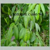 100% natural derris root extract ROTENONE powder CAS#83-79-4