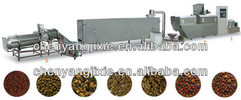aqua floating fish food feed extrusion production line