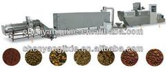 aqua floating fish food feed extrusion production line