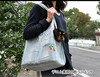 Jeans pet carrier bag