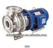 Type DZA Stainless Steel Centrifugal Pump