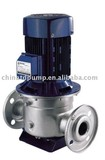 Vertical piping stainless steel centrifugal pump