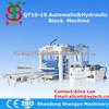 QT10-15 concrete block machine fujian,automatic brick production line