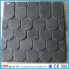 villa natural black roof slate with holes