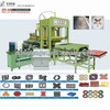 QTY 5-15 cement block machine,interlocking block making machine