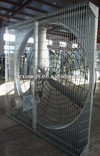 Livestock hanging fan / three galvanized sheet blades hanging exhaust fan