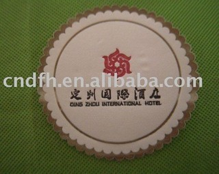 Hotel tissue paper cup coaster