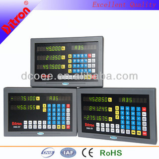 NEW DESIGN multi-functional 2axis/3axis digital readout with color panel (DRO)