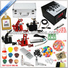 2014 Professional LED Power Supply with Best Quality 4 gun Tattoo Kit