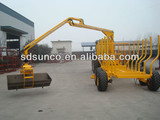 1T-12T CE Timber Trailer with Crane