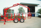 1T-12T CE Timber Loader with Crane