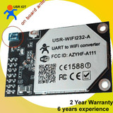 Built-in antenna rs232 ttl uart to WIFI module - 6 years experience