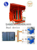 1ton dual device electric furnace of Shenzhou industrial induction melting