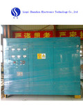 1ton dual device Shenzhou industrial electric melting induction furnace