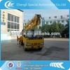 Factory supply ISUZU 4X2 aerial work platform truck