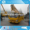 Isuzu 4X2 18M telescopic boom lifting platform truck