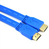 High quality flat hdmi cable 1.4v with gold ends