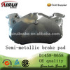 High Quality Auto Parts Brake Pad D1458-8658 for Citroen (OE NO.:4250.42)