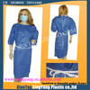 short sleeve disposable medical isolation gown