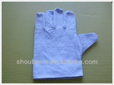 Industrial safety welding canvas gloves