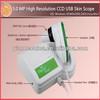 2013 newest high quality USB CCD skin camera analyzer