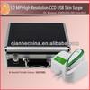 2013 newest protable USB 5.0MP skin analysis machine