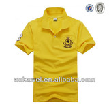 2014 latest cheap promotional polo t shirt for men's nanchang factory
